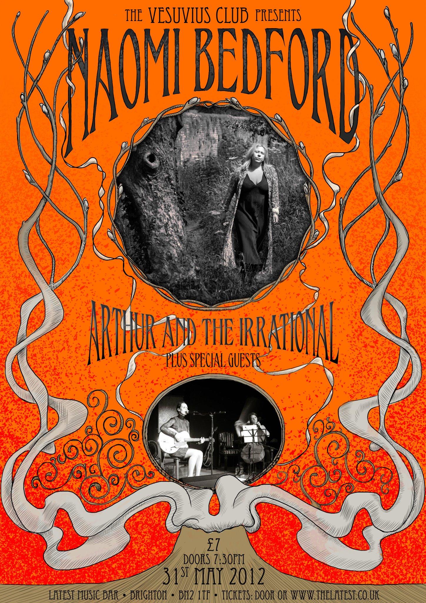 Vesuvius Club Poster