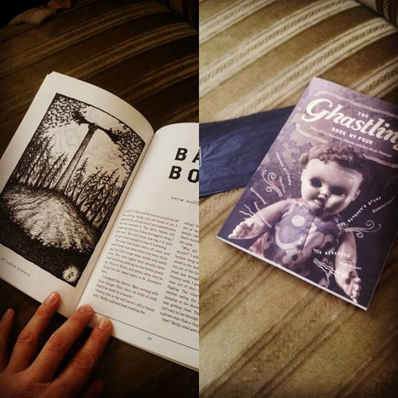 My copy of #theghastling book 4 has arrived! And it looks great! I illustrated the story Bat Boy. #horror #ghosts #ghoststories @theghastling #illustration #penandink #fineliner #rotring #rohrerandklingner #bookillustration #editorialillustration #shortstory #publishing #spooky