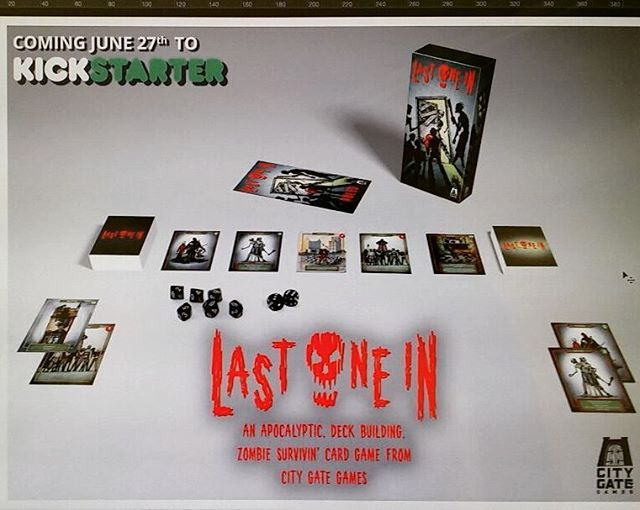 Our upcoming Kickstarter for our new card game @lastonein_game. A Zombie Survival card game. Launch date 27th June. #lastonein #zombies #zombieapocalypse #walkingdead #dayofthedead #boardganes #cardgame #deckbuilding #penandink #penandinkdrawing