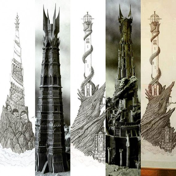 Commission me to draw a one meter tall highly detailed drawing of Brarad-dur or Orthanc (Isengard). For £500 each for a one off original pen drawing (unframed) in the same style as the two tower drawings in the pics. #lotr #lordoftherings #orthanc #isengard #baraddûr #baraddur #penandink #fantasy #fantasyart #highfantasy #penandink #sauron #theeyeofsauron #saruman