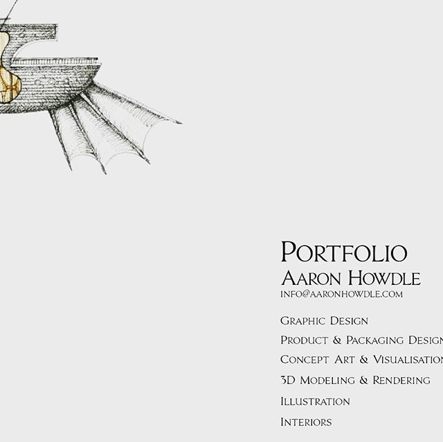 Urgently need some work! Here is the link to my Design & Illustration portfolio. Please get in touch if I can help you with anything! #lookingforwork #illustrator #graphicdesigner #conceptartist #3dmodeling #cinema4d #digital Illustration #penandink https://issuu.com/aaronhowdle/docs/grand_folio-_a_howdle