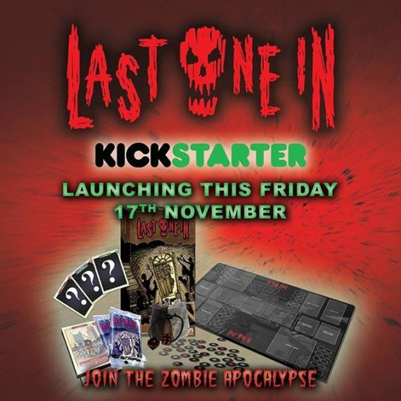 Last One In. Our Zombie card game. Coming to #Kickstarter this Fri 17th. https://tinyurl.com/yc5uzmfy  #zombies #zombieapocalypse #boardgames #tabletop #survivalhorror #horror #gamesnight #madeinbrighton