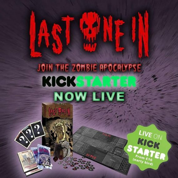 Our zombie card game @lastonein_game . Illustrated by MEEEE is now live on Kickstarter! #zombies #cardgames #tabletop #zombieapocalypse #survivalhorror #kickstarter https://www.kickstarter.com/projects/301519842/last-one-in-a-modular-zombie-card-game