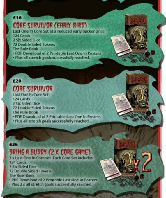 Rewards pt1 for our @lastonein_game @kickstarter campaign. A modular card game with Zombies! https://www.kickstarter.com/projects/301519842/last-one-in-a-modular-zombie-card-game #zombies #boardgames #cardgames #survivalhorrorgame