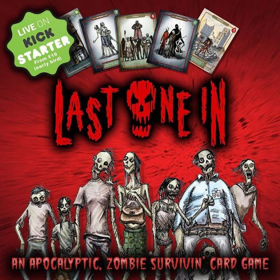 Live now on Kickstarter. Our #zombie #cardgame ! Illustrated by me! https://www.kickstarter.com/projects/301519842/last-one-in-a-modular-zombie-card-game #boardgames #zombieapocalypse #walkingdead #dayofthedead #dawnofthedead  #tabletop #dice #gamesnight #kickstarter