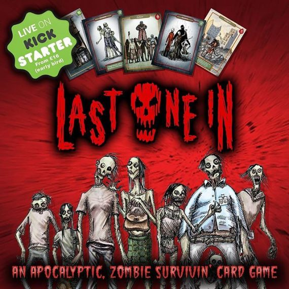 If you back Last One In today. Kickstarter doesn't take your payment until the end of the campaign in January! https://www.kickstarter.com/projects/301519842/last-one-in-a-modular-zombie-card-game #zombies #boardgames #cardgames #survivalhorrorgame