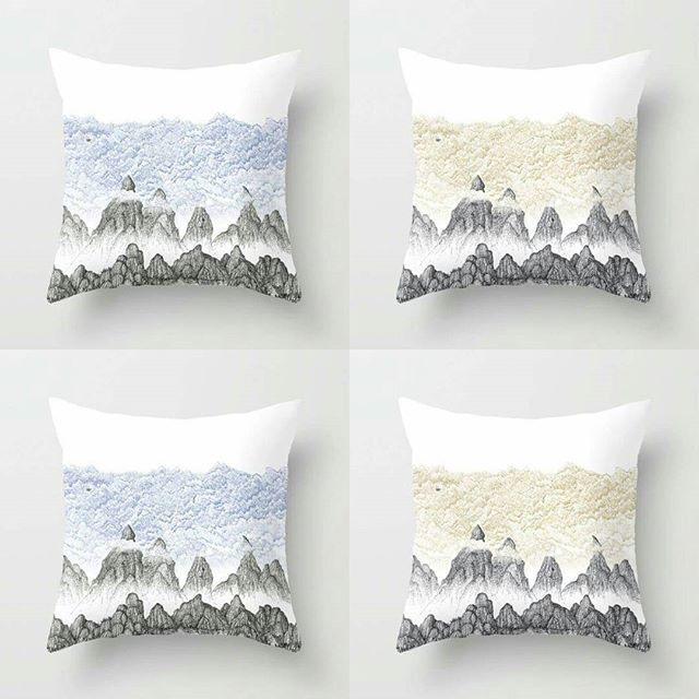 My new designs to compliment the airships. 25% off til midnight. Here: https://society6.com/s?q=popular+aaron+howdle+home #society6 #cushions #steampunk #victoriana #victorian #penandink #airships #mountains #alps