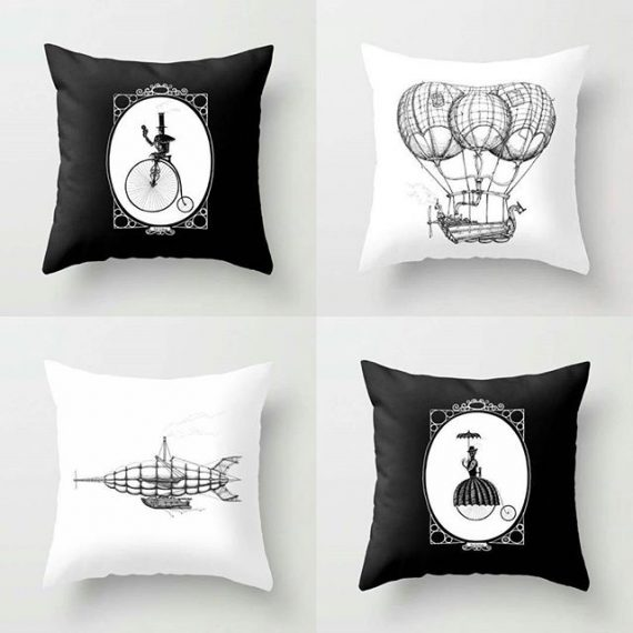 My art is now available on cushions to curtains. 30% off til midnight. Here: https://society6.com/s?q=popular+aaron+howdle+home #society6 #cushions #steampunk #victoriana #victorian #penandink #airships #bedlinen #curtains #bags