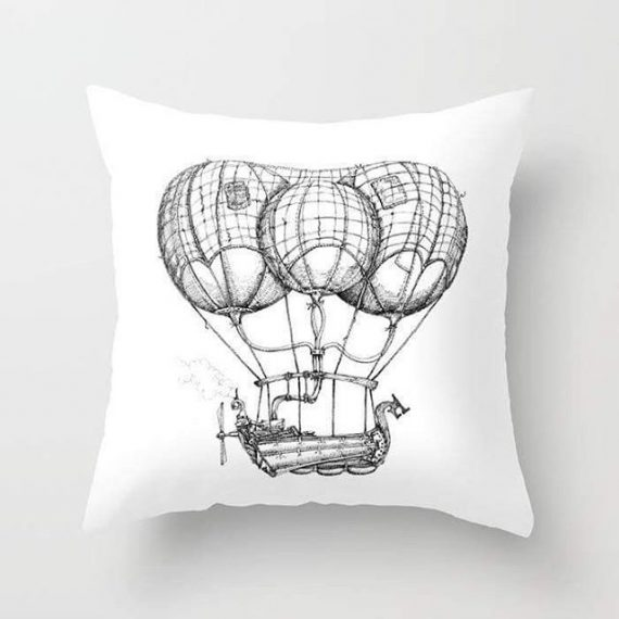 My art is now available on cushions to curtains. 30% off til midnight. Here: https://society6.com/s?q=popular+aaron+howdle+home #society6 #cushions #steampunk #victoriana #victorian #penandink #airships