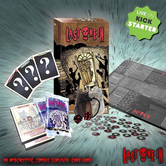 6 days to go and we are only at 26% funding on Kickstarter. Fingers crossed for a miracle!  We have done pretty well in raising £2675 so far but it's all or nothing!  #zombies #cardgame #boardgames https://preview.tinyurl.com/y7actuzt