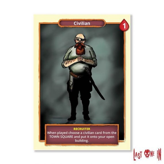 The recruiter wants to take you home :/ . A card from  @lastonein_game  now live on Kickstarter  https://tinyurl.com/yc3z9g45. #zombies #cardgame #boardgame #tabletop #zombiesurvival #kickstarter