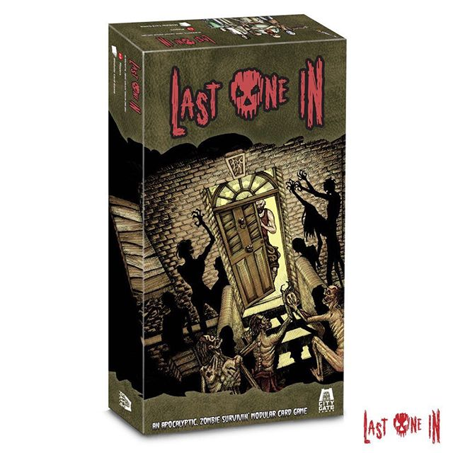 It's the last day of #ukgamesxpo2018! So why not head over to stand 1-L16 and have a game of Last One In. You can get an Expo exclusive card! And don't forget we are live on Kickstarter! yc3z9g45 #zombies #cardgame #boardgame #tabletop #horrorgame #zombieapocalypse #gameart