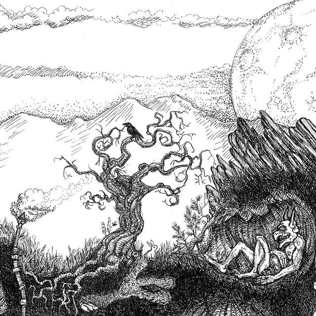 My kickstarter for The Dwarven Stronghold Art Print is at 191%, so I've added a Stretch Goal - an additional print with new rooms on it!  back it here: kck.st/2MjmWvF  #rpg  #fantasyart #dwarves #dwarf #penandink