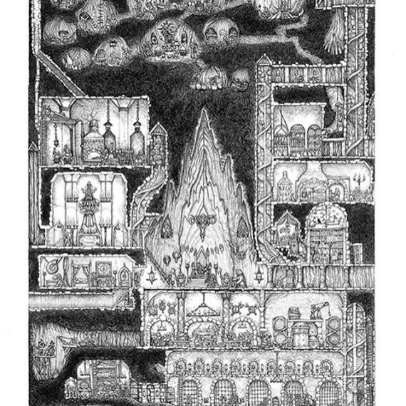 Hey! If you missed the Kickstarter, you can still get the Dwarven Stronghold here: https://tinyurl.com/yxnvr2h5 #dwarves #goblins #troll #dungeonsanddragons #dungeonmaster #dungeonmap #penandink #oldhammer #tabletop #fantasyart #lotr #warhammer