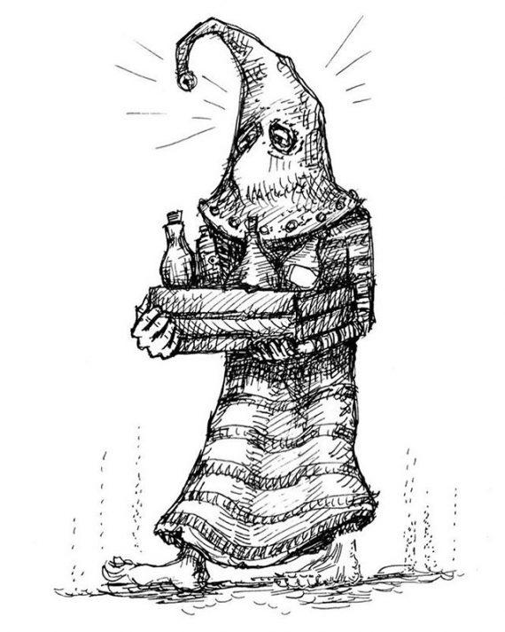 Vapuz the Vial Bearer will be a free 28mm metal miniature if my Kickstarter of Sorcerers' minions miniatures reaches its next target. http://kck.st/332Dxrj #minion #dungeonsanddragons #warhammer #oldhammer #rpg #tabletop #tabletopgaming #28mm #wizard #socerer #warlock #mage #magiciser #familiar