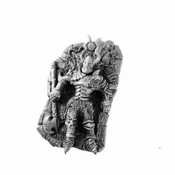 A recent sculpt for Ye Alchemist miniatures – a wounded Chaos warrior. #chaos #warhammer #dungeonsanddragons #sculptingminiatures #fantasyart #antihero #tabletopgames